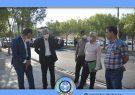 روند پیشرفت پروژه روکش آسفالت خیابان شهید رئیسعلی دلواری