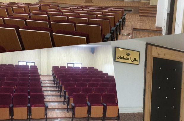 سالن اجتماعات شرکت آب و فاضلاب بوشهر افتتاح شد