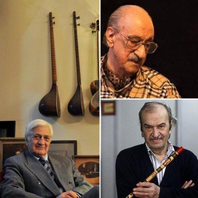 ۳ بزرگ موسیقی پس از سالها با هم روبهرو شدند