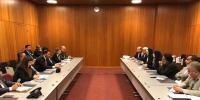 دیدار هیات پارلمانی ایران و عراق در ژنو