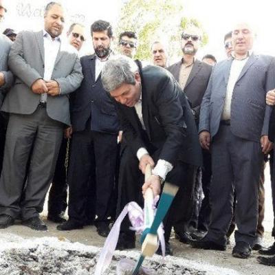 کلنگ احداث ۴ پروژه آموزشی در مسجد سلیمان به زمین زده شد