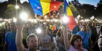 سومین شب اعتراضات ضد دولتی در رومانی