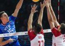 آمار بازی تیمهای ملی والیبال روسیه و لهستان/ برتری روسها در حمله