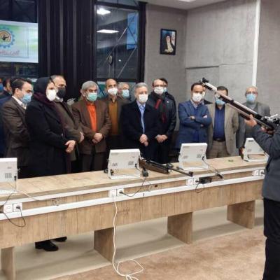 آکادمی تیراندازی در دانشگاه تهران افتتاح شد