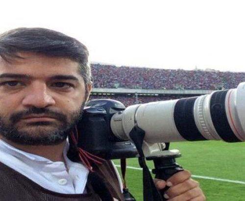 سعید زارعیان جایزه نفر اول انتخاب مردمی جشنواره عکس را دریافت کرد