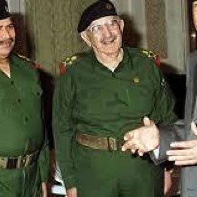 مرگ وزیر دفاع صدام