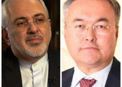 گفت وگوی کرونایی ظریف با همتای قزاقستانی