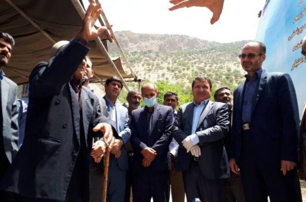 همزمان با رزمایش کشوری برکت امام خمینی( ره )؛  آیین بهره برداری از پروژه آبرسانی به روستای دره بید لوداب انجام شد