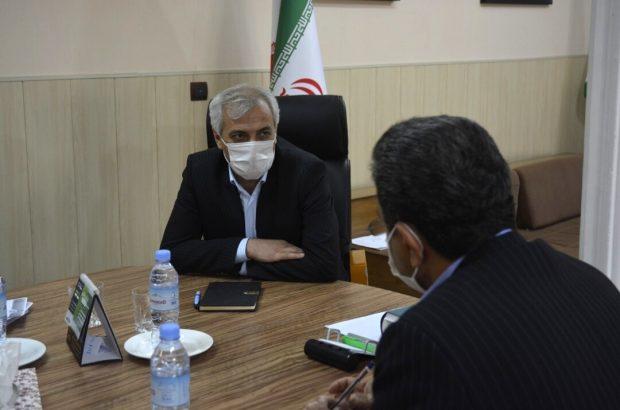نشست مدیرعامل برق منطقه فارس با شهردار بندر بوشهر