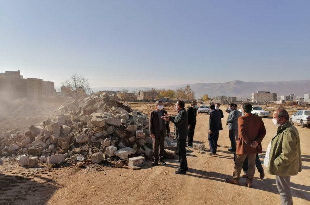 گام بلند شهرداری یاسوج با تخریب یک ساختمان در تکمیل بلوار ۴۵متری آیت الله ملک حسینی