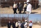 روند اجرای آب شیرینکن ۳۵ هزار مترمکعبی بوشهر با حضور استاندار بوشهر بررسی شد