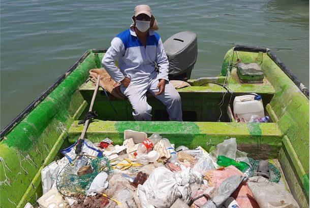 پاکسازی خور بندر دیلم بوشهر انجام شد
