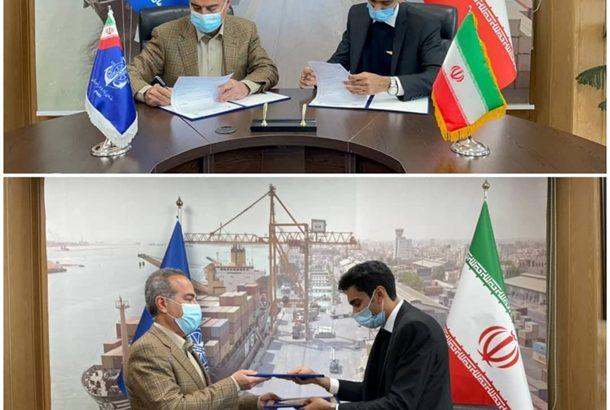 اداره کل بنادر و دریانوردی استان و شرکت بال های پرواز ققنوس جنوب، تفاهمنامه همکاری امضا کردند
