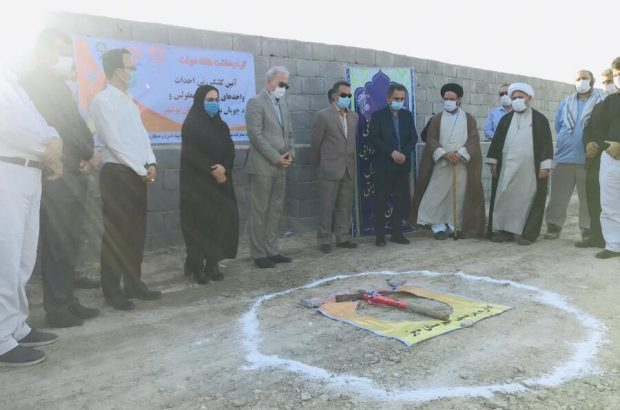آیین کلنگ زنی و ساخت سه واحد مسکونی ویژه مددجویان در دیر برگزار شد