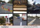 طرح جانمایی و نصب تابلوها و علائم ترافیکی در شهر بوشهر