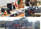 اجرای طرحهای آبرسانی در شهرستان دشتی