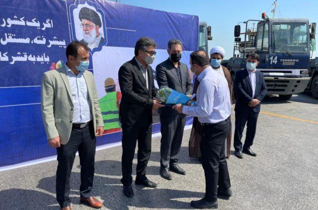 آیین تقدیر از کارگران شاغل در بندر بوشهر برگزار شد