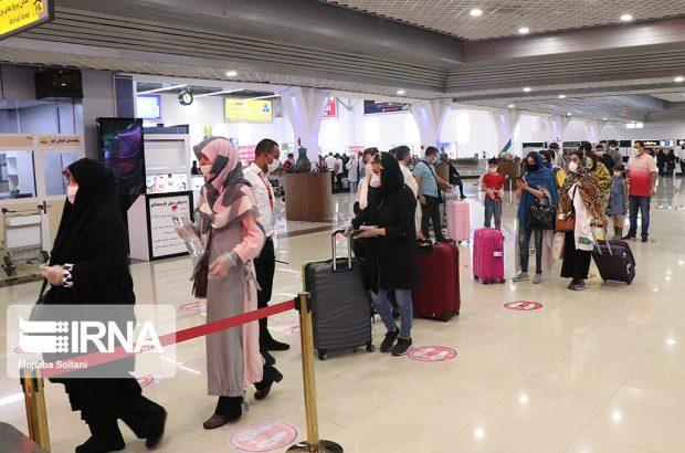 استمرار فعالیت بی وقفه فرودگاه بین المللی کیش ؛مبدا ورودی و مرکز کنترل در شرایط پاندمی کرونا