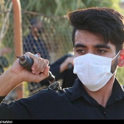 مراسم روز عاشورا با رعایت پروتکلهای بهداشتی در شهرهای خوزستان برگزار شد + تصاویر