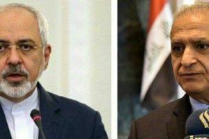 گفتوگوی ظریف با وزیر خارجه عراق در آستانه سفر روحانی به این کشور