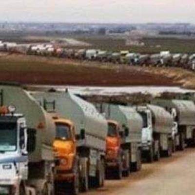 ادامه غارت منابع سوریه از سوی آمریکا