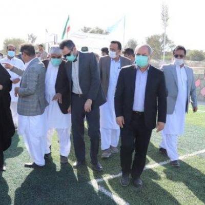 سالن چند منظوره ورزشی درسیستان و بلوچستان به بهره برداری رسید
