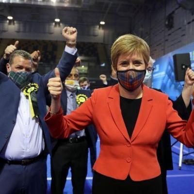 پیشتازی حزب ملیگرای اسکاتلند در انتخابات پارلمانی