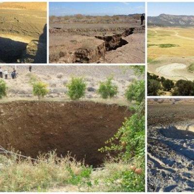 فرونشست دشت های فارس فراترازمیانگین جهانی/دخل وخرج آب تناسب ندارد