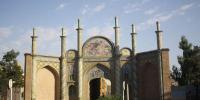 دروازهای که ناصرالدینشاه با آن عکس گرفت + تصاویر