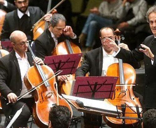 ارکستر سمفونیک تهران به رهبری شهرداد روحانی  اجرا می شود