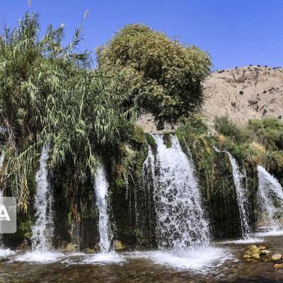 منطقه گردشگری آرپناه بهشتی در گرمای خوزستان
