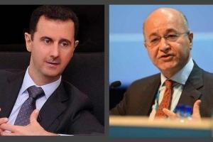 پیام تبریک بشار اسد به ریاست جمهور جدید عراق