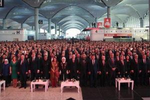اردوغان فرودگاه جدید استانبول را بازنمایی کرد