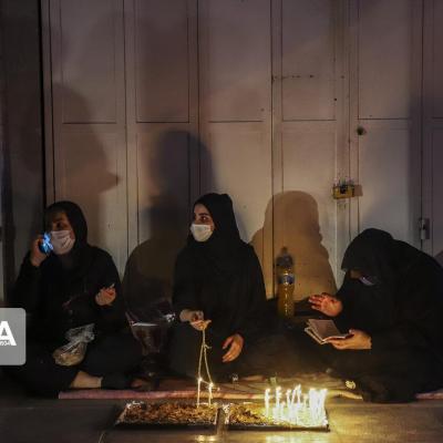 اشک و سوگ مردم خوزستان در شام غریبان حسینی