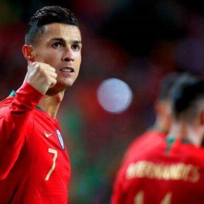 واکنش رونالدو به قهرمانی در لیگ ملتهای  اروپا