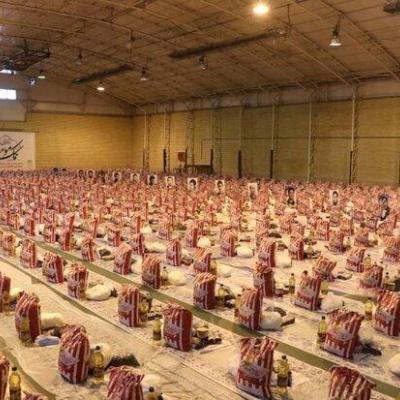 توزیع بیش از ٣٠٠٠ بسته معیشتی بین اقشار آسیبپذیر لرستان