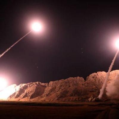 انتشار تصاویر جدید از حمله موشکی سپاه به پایگاه عین الاسد توسط رسانههای آمریکایی + فیلم