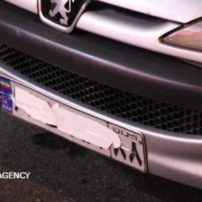 برخورد با رانندگان وسایل نقلیه پلاک مخدوش در لرستان