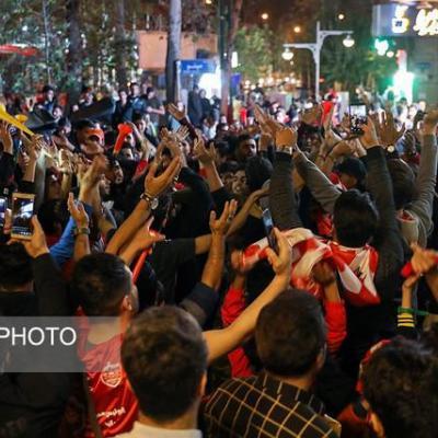 جشن قهرمانی پرسپولیس به تهران رسید