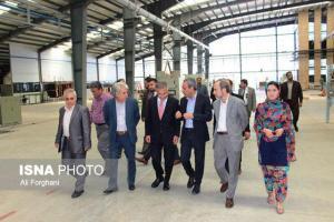 بازدید مشاور ارشد ریاست جمهور افغانستان از شهر صنعتی و منطقه مخصوص اقتصادی کاوه
