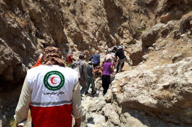 جستجوی سه روزه وکشف جسد فرد مفقود شده در ارتفاعات گچساران