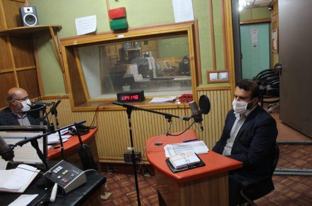 حضور مدیر کل بنیاد مسکن استان کهگیلویه و بویر احمد در برنامه رادیویی توسعه استان
