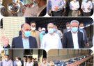 بازدید استاندار بوشهر ازخط انتقال آبرسانی سیراف _ جم و پروژه آبشیرین کن
