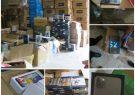 کشف بیش از ۱۷۰ میلیارد ریال کالای دیجیتال قاچاق در بندر ریگ