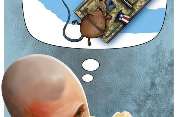 کاریکاتور تروریستهای ترسو