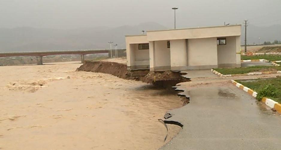 خسارات سیل و بارشهای اخیر در کهگیلویه و بویراحمد